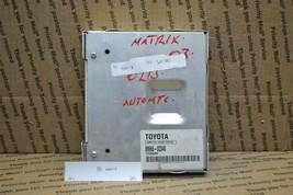 2003 2004 Toyota Matrix Engine Control Unit ECU 8966602340 Module 884-6A3 - $34.23