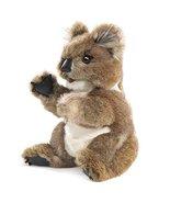 Folkmanis Koala Hand Puppet Plush, Gray-Brown/White - $41.39