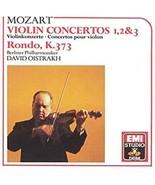 Mozart: Violin Concertos Nos. 1-3 etc. Oistrakh Cd - $12.99