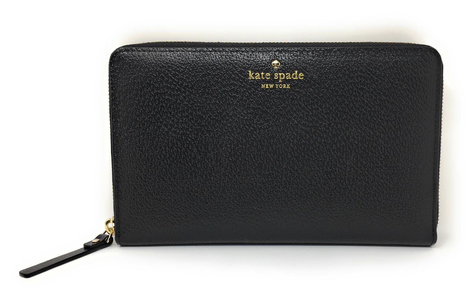 f700208af3454 Kate Spade Grand Street Black Leather Zip and 50 similar items