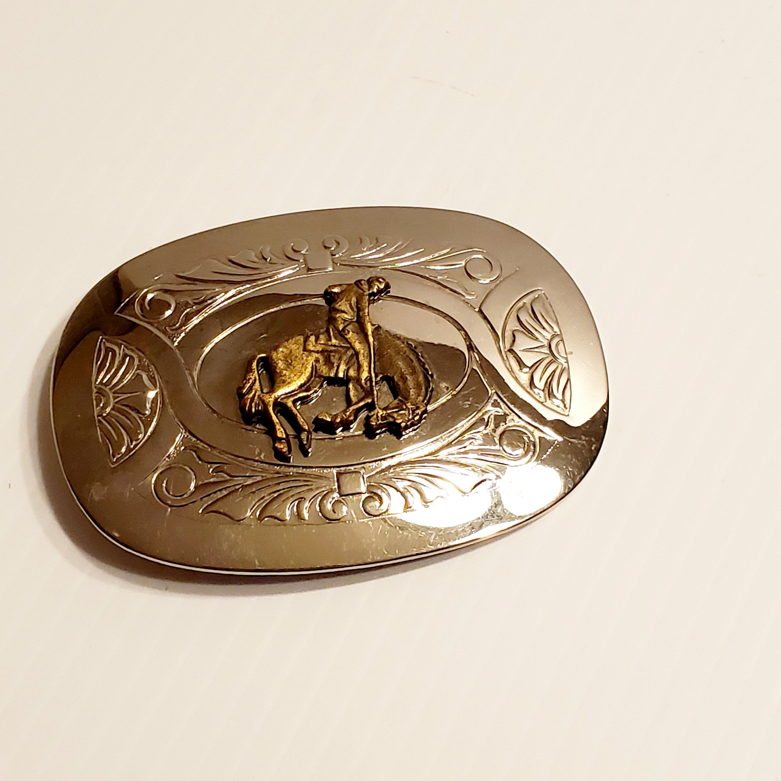 New Vintage Sport Firefighter Western Belt Buckle Boucle also Stock in US