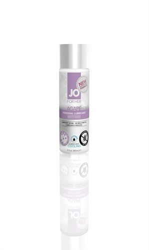 JO For Her Agape Cooling Lubricant - 2oz For sensitive Woman ! Never Sticky