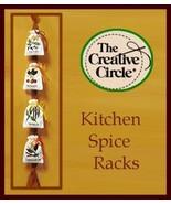 Creative Circle KITCHEN SPICE SACKS Crewel Embroidery Kit #1925 - $15.99