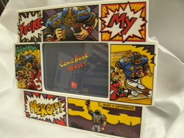 Comic Book Heroes Picture Photo Frame by Russ   - $5.99