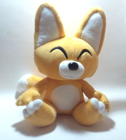 Unknown Yellow Fox Character Oversized Plush / UFO Catcher * Anime