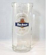 TUCHER WEIZEN GLASS BEER MUG - RARE IMPORT, GRE... - $19.99