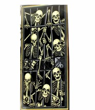 Gothic-SKELETON PRISONERS DOOR COVER MURAL-Halloween Party Decoration Pr... - $3.44