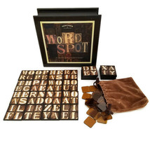 Word Spot Game Classic Wood Box Edition Fast Paced Hidden Word Search - $22.95