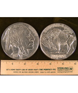"Big 3"" Metal Coin Replica 1937 Three Legged Buffalo Nickel - $8.63 CAD"