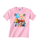 Personalized Fresh Beat Band Birthday Light Pink T-Shirt Gift #1 Add You... - $16.99