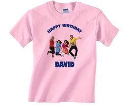 Personalized Fresh Beat Band Birthday Light Pink T-Shirt Gift #3 Add You... - $16.99