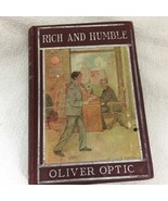 1908 Rich and Humble Oliver Optic Mission of Bertha Grant HB Book  - $14.36