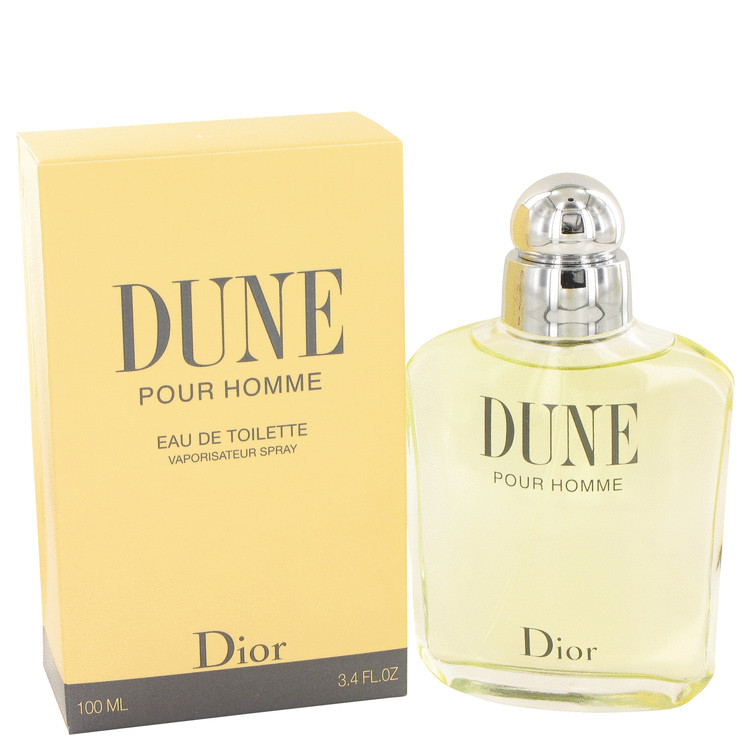 Christian Dior Dune 3.4 Oz Eau De Toilette Cologne Spray