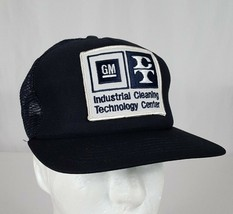 GM Industrial Cleaning Tech Center Mesh Snapback Trucker Hat Cap Dupont ... - $38.99