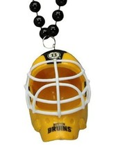NHL Boston Bruins Helmet Fan Beads 30 Inch Beads 5 Inch Helmet NEW - $20.00