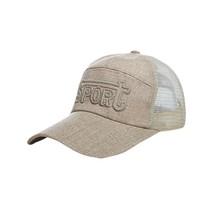 Fashion Women  Adjustable Baseball Hat Letter Embroidery Hip-Hop Mesh Ca... - £7.77 GBP