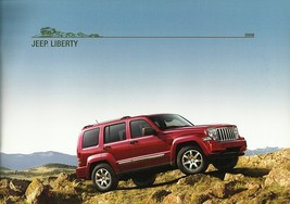 2008 Jeep LIBERTY brochure catalog US 08 Sport Limited - $8.00