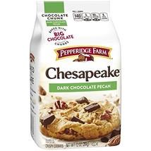 Pepperidge Farm Chesapeake, Crispy, Cookies, Dark Chocolate Pecan, 7.2 oz, Bag,  image 9