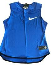 NIKE Vapor Speed Sleeveless Padded NFL Football Tank 835345 480 Blue Size XL $65 - $34.65