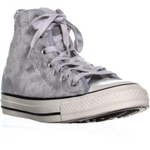 Converse Ctas High Top Sneakers Grau/Weiß, 6.5 US 37 Eu - $74.38