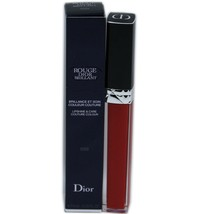 ROUGE DIOR BRILLANT LIPSHINE & CARE COUTURE COLOUR 6ML #999 NIB-F077325999 - $29.21
