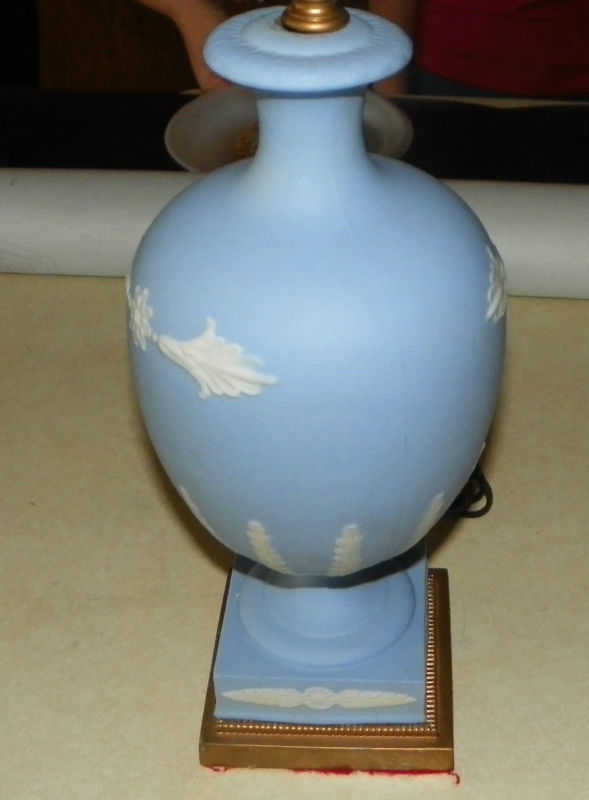 Blue Wedgwood Decorative Table Lamp