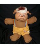 "14"" VINTAGE 1983 CABBAGE PATCH KIDS BROWN KOOSAS DOLL STUFFED ANIMAL PLU... - $23.38"