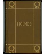 Poetical Works Oliver Wendell Holmes antique book illustrated - $29.00