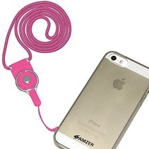 Amzer Detachable Cell Phone Neck Lanyard for  - Hot Pink - $11.83