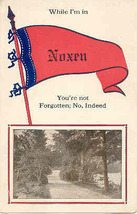 While I m In Noxen Pennsylvania 1914 Vintage Post Card - $5.00