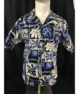 Hawaiian Aloha Shirt Polynesian Tapa Design Hawai Cintas USA Choose size - $14.99