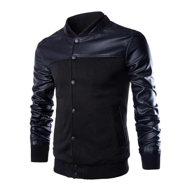 new arrival fashion casual men long sleeve jacket coat outerwear