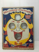Humpty Dumpty Bean Bag Toss Doubl-Jay Products Game Board Carnival Vintage - $59.99