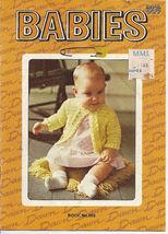 Babies American Thread Book 003 Crochet & Knit Patterns - $4.50