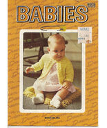 Babies American Thread Book 003 Crochet & Knit Patterns - $4.50