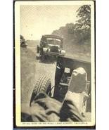 155mm Guns on the road, camp Roberts CALIFORNIA 08-280 - $6.00