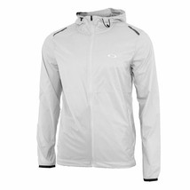 Oakley Link ICON Windbreaker Golf Jacket Grey M XL - $88.95