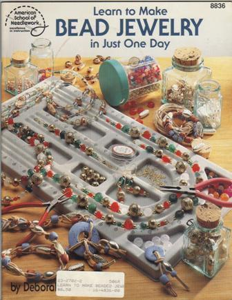 Learn to make bead jewelry in just one day american for Learn to draw jewelry