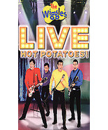 The Wiggles Live Hot Potatoes VHS - $2.99