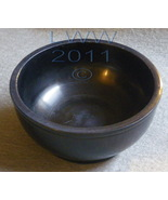 Black Marble 4 Inches Scrying Bowl Pagan Wicca - $11.85