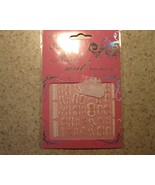 NAIL DECALS STICKERS PINK WHITE BOWS & LACE NEW #773 - $2.99