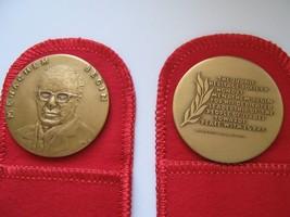 Israel , Menachem Begin , Bronze Medal  , Man Of The Year - $50.00