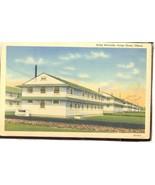 Army Barracks Camp Grant Illinois  Linen 4.593 - $6.00