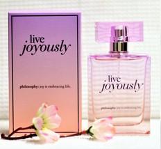 Philosophy LIVE JOYOUSLY 2oz Eau De Parfum Immaculate/Actual Photo) - $23.89