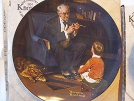 THE TYCOON Collector KNOWLES Plate Norman Rockwell Heritage Collection - $5.52