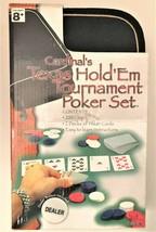 Cardinal's Texas Hold 'Em Tournament Poker Set w/ Travel Case - $7.35