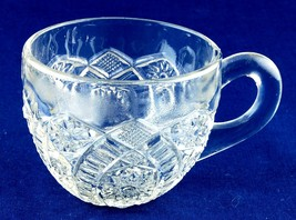 McKee Glass Co. Concord Punch Glass Cup Pressed - $2.50