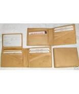 Genuine Leather Men's Bi-Fold Wallet- #589 TAN - $20.00