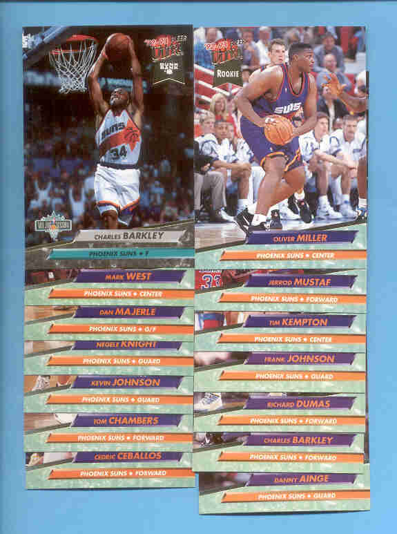 1992/93 Fleer Ultra Phoenix Suns Basketball Team Set