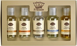 Carrier Oil 5 Pack #1- All Natural ingredients - This Kit Includes Almond, Apric
